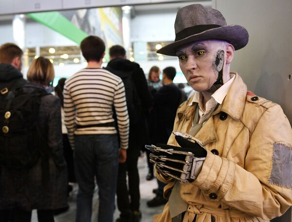 Partecipante alla mostra IgroMir 2019 e al festival Comic Con Russia 2019 a Mosca - Sputnik Italia