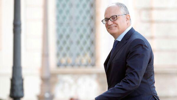 Il ministro dell'Economia Roberto Gualtieri - Sputnik Italia