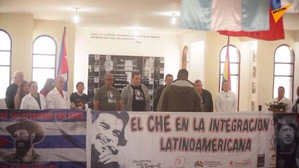 Bolivia: sostenitori rendono omaggio a Che Guevara in occasione del 52° anniversario della sua morte - Sputnik Italia