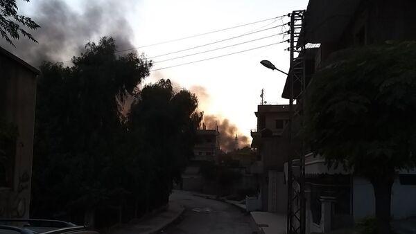 Le conseguenze del raid aereo turco a Ras Al-Ayn - Sputnik Italia