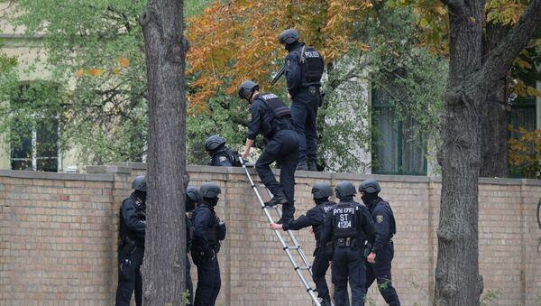 La scena di crimine a Halle, il 9 ottobre del 2019 - Sputnik Italia