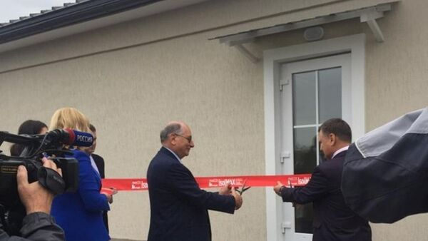 E' stata inaugurata la casa IsolMAX - Sputnik Italia