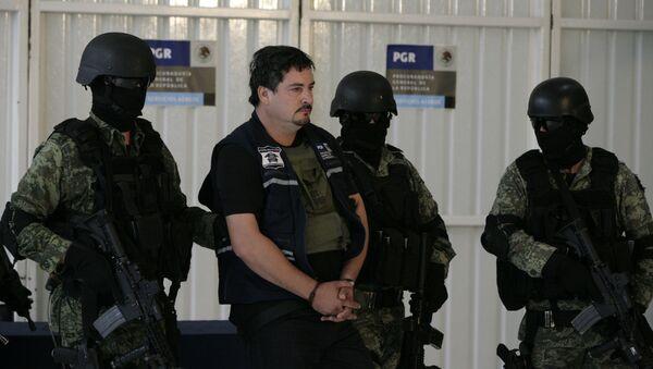 L'arresto del figlio di El Chapo, Guzmán, 2011 - Sputnik Italia