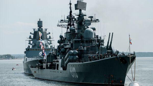 Cacciatorpedinieri della Marina russa nel Baltico - Sputnik Italia