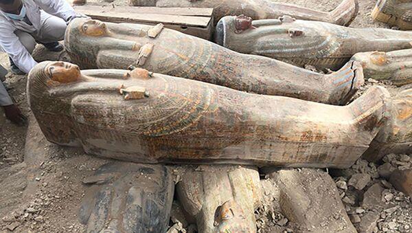 Sarcofaghi a Luxor - Sputnik Italia