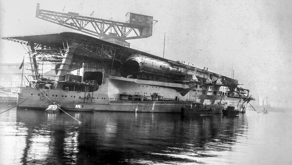 Portaerei della Marina imperiale giapponese Kaga - Sputnik Italia