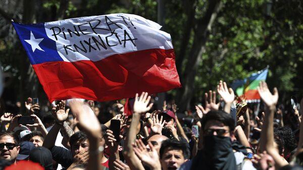 Proteste in Cile - Sputnik Italia