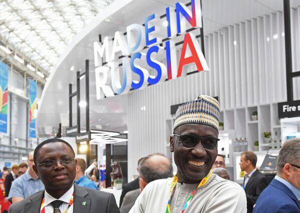 Partecipanti al Forum economico Russia-Africa 2019 a Sochi  - Sputnik Italia