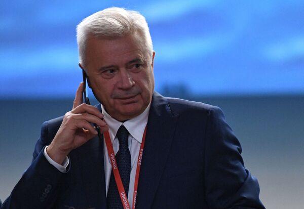 Vagit Alekperov, presidente della più grande azienda petrolifera russa LUKoil, al Forum economico Russia-Africa 2019 a Sochi - Sputnik Italia
