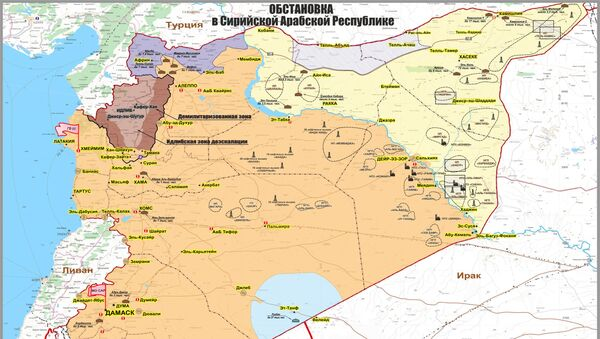 La situazione nella Repubblica Araba di Siria - Sputnik Italia