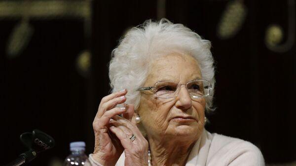 Liliana Segre - Sputnik Italia