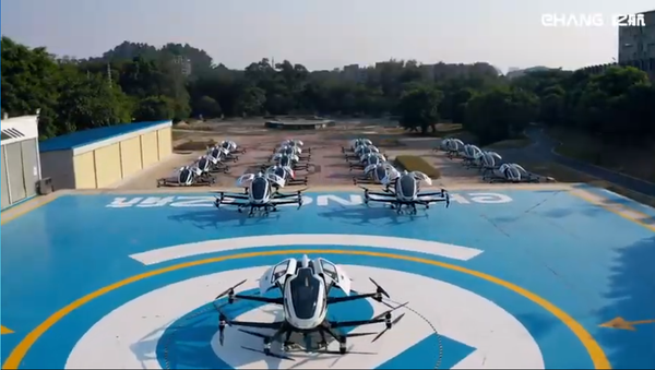 Elicotteri EHang per aerotaxi - Sputnik Italia