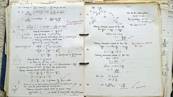 Quaderno di matematica - Sputnik Italia