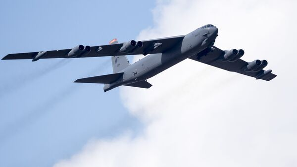 Bombardiere strategico americano B-52 - Sputnik Italia