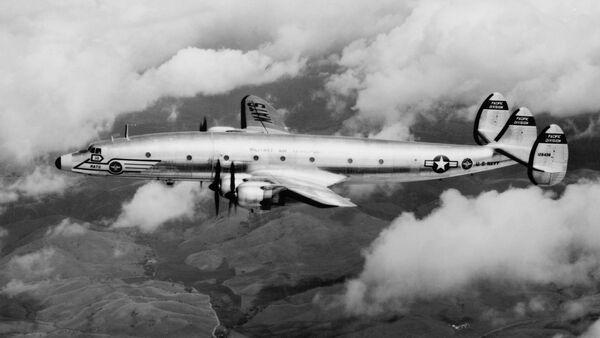 L'aereo della Marina militare statunitense Lockheed R7V-1 - Sputnik Italia