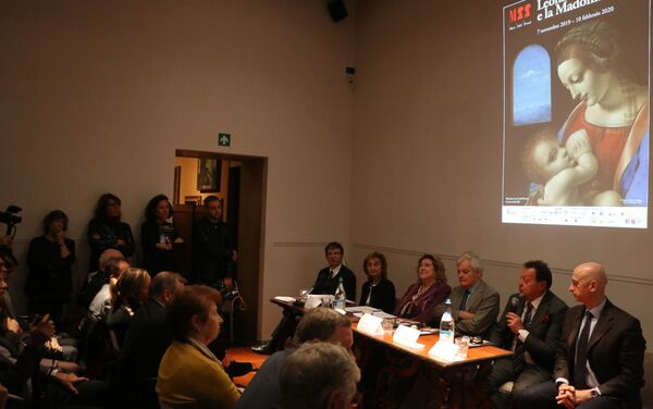 La conferenza stampa nel museo Poldi Pezzoli - Sputnik Italia
