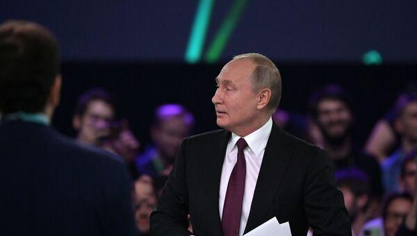 Vladimir Putin al Forum dell'Europa Orientale Artificial Intelligence Journey - Sputnik Italia