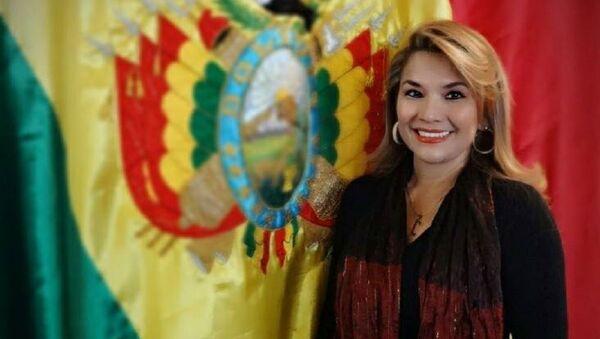Jeanine Añez Chavez Bolivia - Sputnik Italia