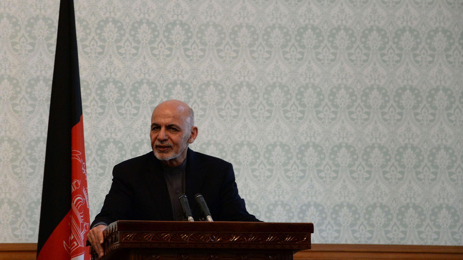 Presidente dell'Afghanistan Ashraf Ghani - Sputnik Italia, 1920, 15.08.2021