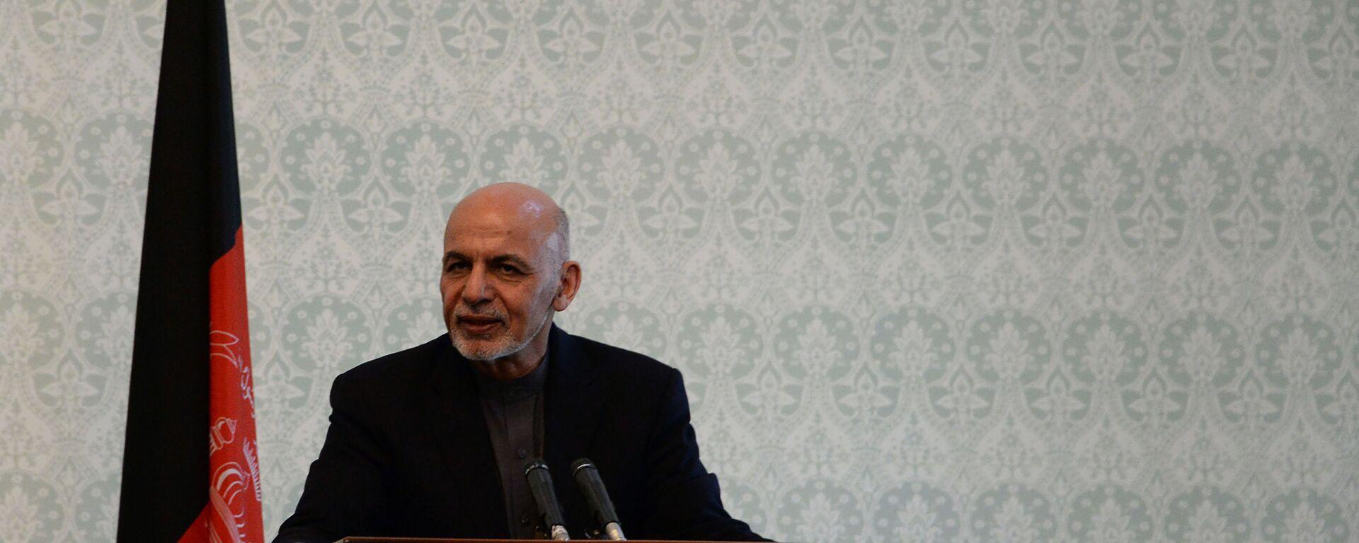 Presidente dell'Afghanistan Ashraf Ghani - Sputnik Italia, 1920, 18.08.2021