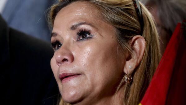 Il senatore boliviano Jeanine Añez - Sputnik Italia