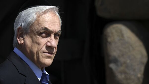 Sebastián Piñera, presidente del Cile - Sputnik Italia