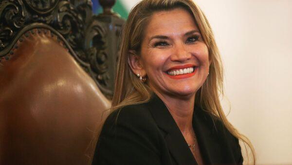 JeanineAnez, presidente ad interim boliviano - Sputnik Italia