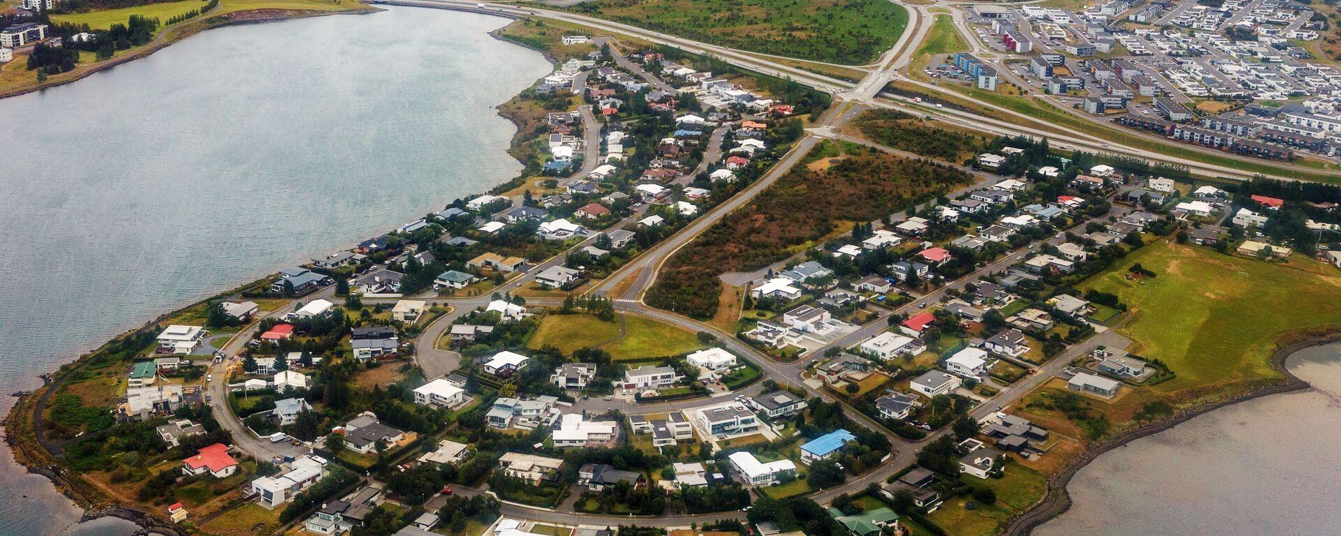 La città di Gardabaer, in Islanda - Sputnik Italia, 1920, 30.07.2021