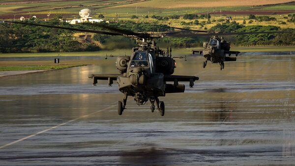 Elicotteri AH-64E Apache - Sputnik Italia