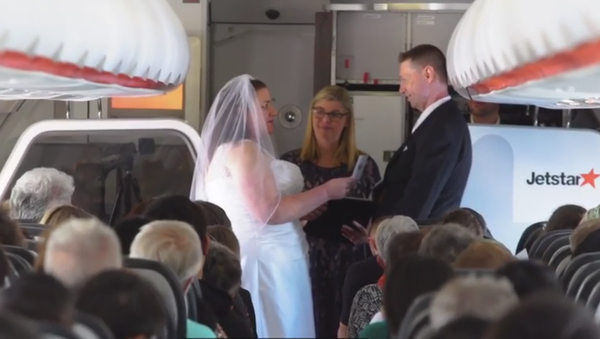 Matrimonio in cielo - Sputnik Italia