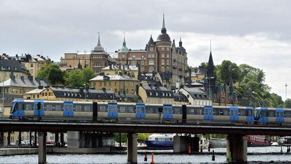 Vista sull'isola Sodermalm a Stoccolma - Sputnik Italia