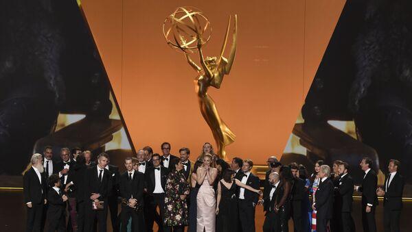 Il cast e gli operatori di Game Of Thrones al 71esimo Primetime Emmy Awards - Sputnik Italia