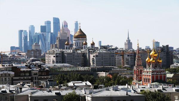 Una vista del centro di Mosca - Sputnik Italia