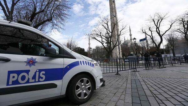 Autoveicolo della polizia turca - Sputnik Italia