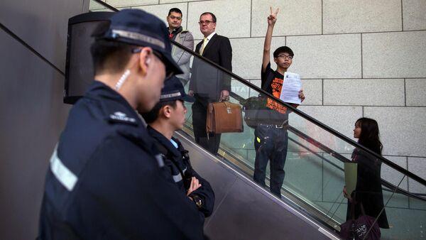 Joshua Wong - Sputnik Italia