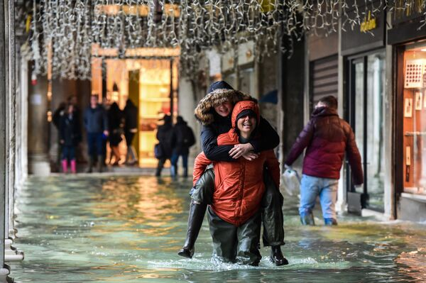 Turisti a Venezia. - Sputnik Italia
