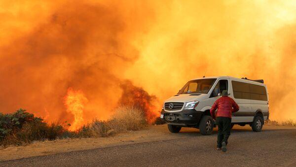 Лесные пожары в Калифорнии - Sputnik Italia