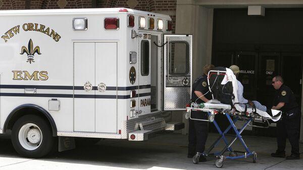 Ambulanza a New Orleans - Sputnik Italia