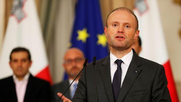 Il primo ministro Maltese Joseph Muscat - Sputnik Italia