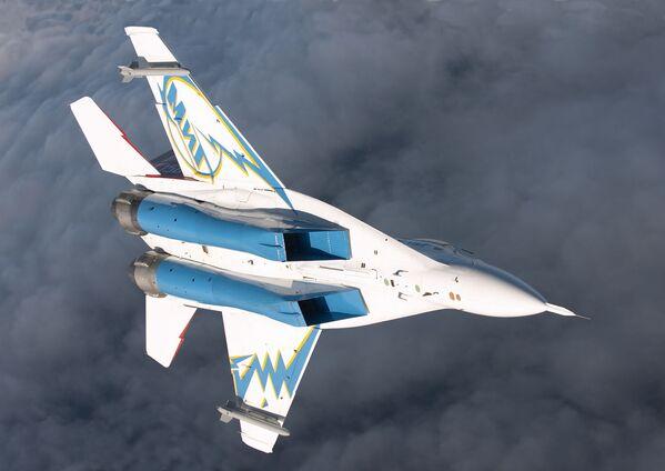 Il caccia-bombardiere da superiorità aerea russo MiG-29OVT - Sputnik Italia