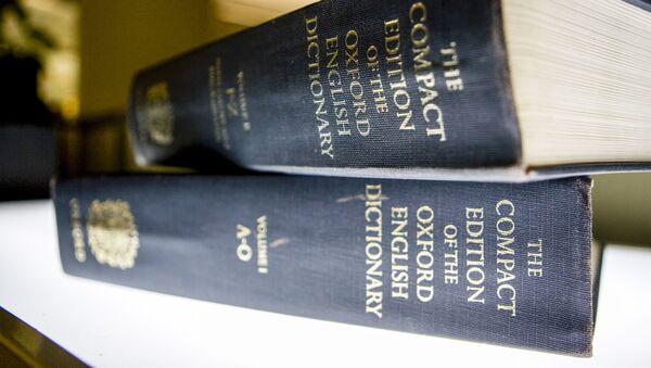 Il dizionario 'Oxford English Dictionary' - Sputnik Italia