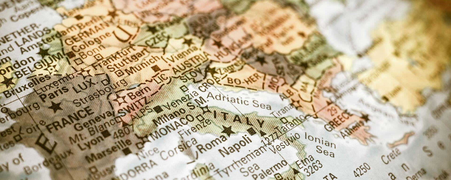La mappa del Mediterraneo - Sputnik Italia, 1920, 11.05.2020