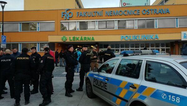 Sparatoria a Ostrava in Repubblica Ceca (10.12.19) - Sputnik Italia