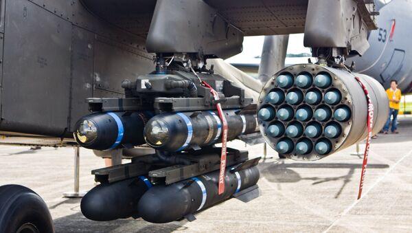 Missili anticarro AGM-114 Hellfire  e razzi Hydra da 70mm  - Sputnik Italia