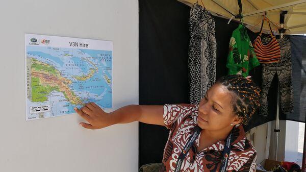 Papua New Guinea Shares its Culture with APEC Delegates  - Sputnik Italia