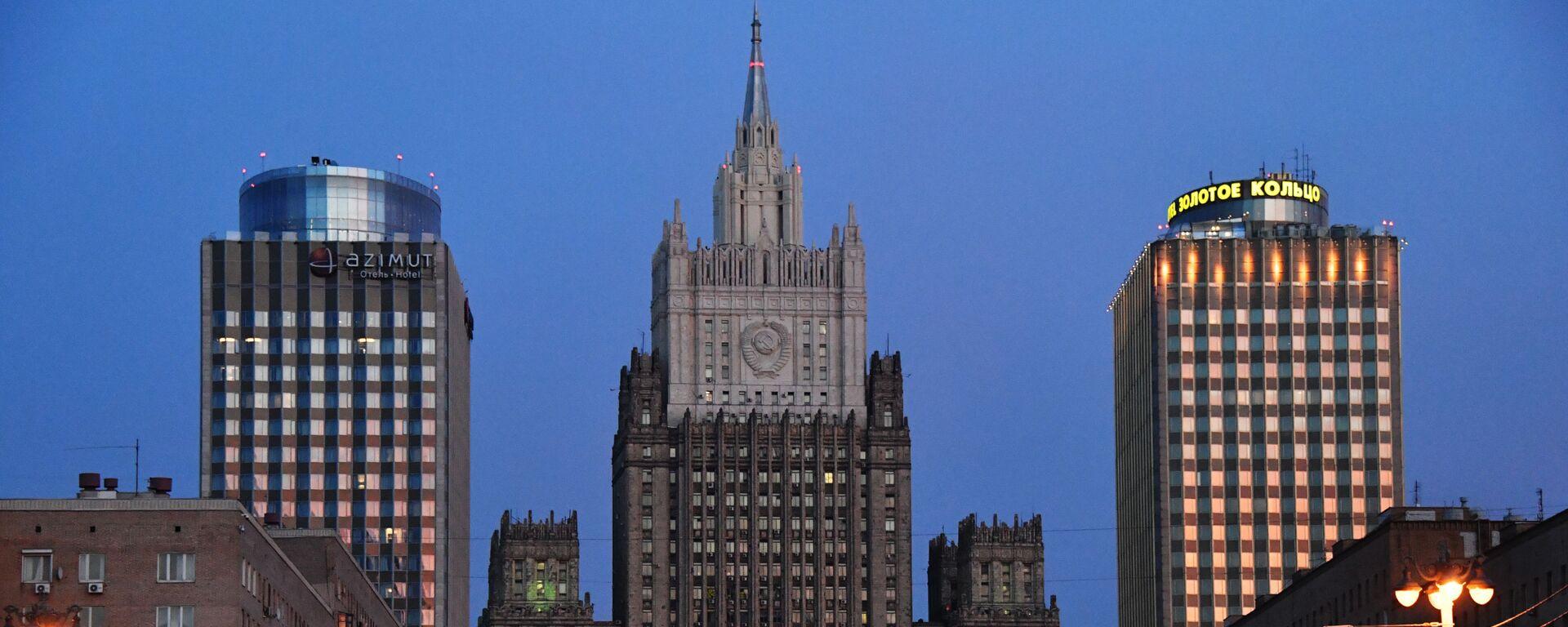 Il ministero degli Affari esteri della Federazione Russa - Sputnik Italia, 1920, 21.04.2021