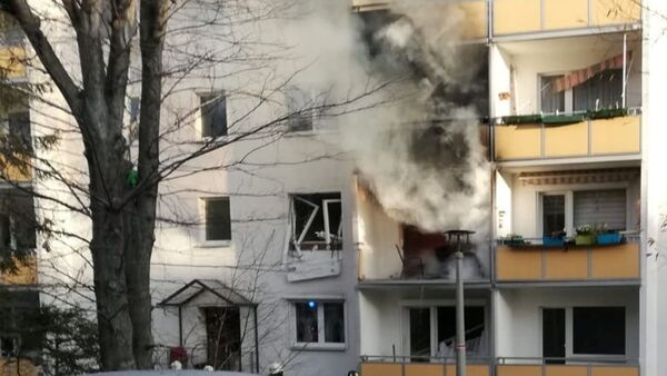 Esplosione nella città tedesca di Blakenburg - Sputnik Italia