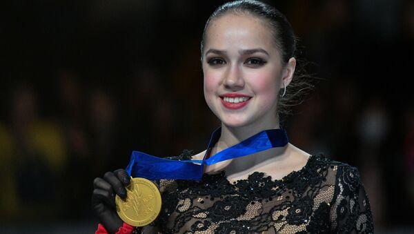 Alina Zagitova - Sputnik Italia