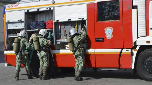 Vigili del fuoco in Russia - Sputnik Italia