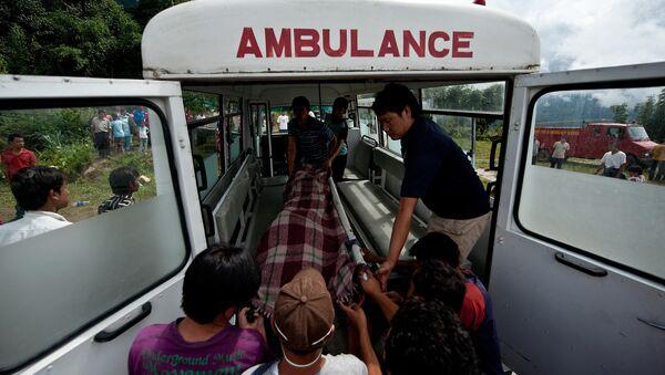 Ambulanza in Nepal - Sputnik Italia